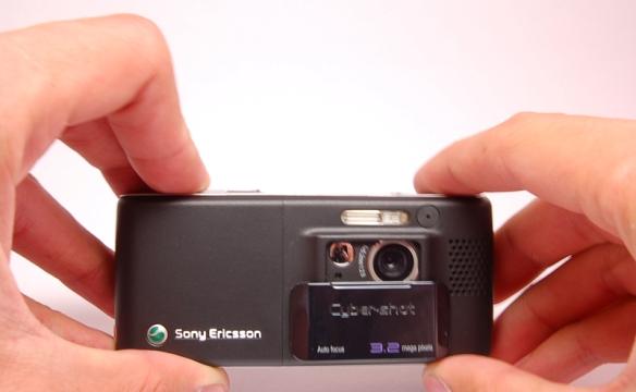 про телефон SE K800i