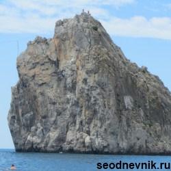 скала дива в Крыму