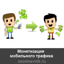 Монетизация мобильного  трафика на киносайте